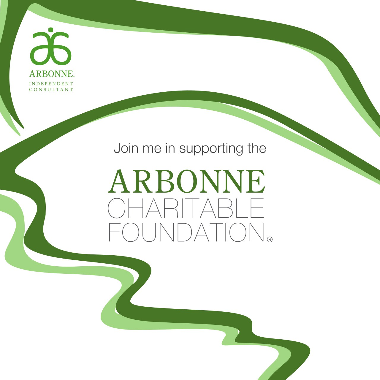 acf join me in supporting the arbonne charitable foundation instagram image  image