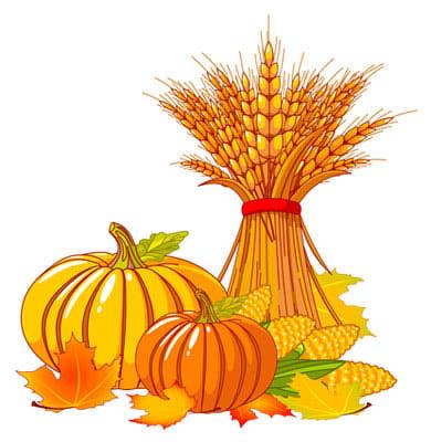 happy fall clip art 4 image