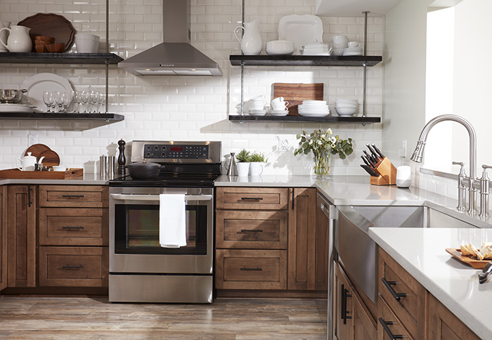 kitchen remodeling ideas open shelving image